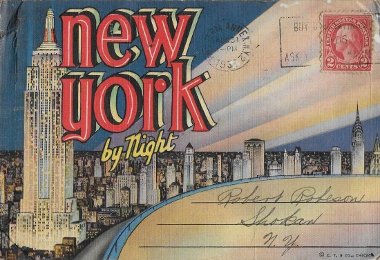 postcard - new york