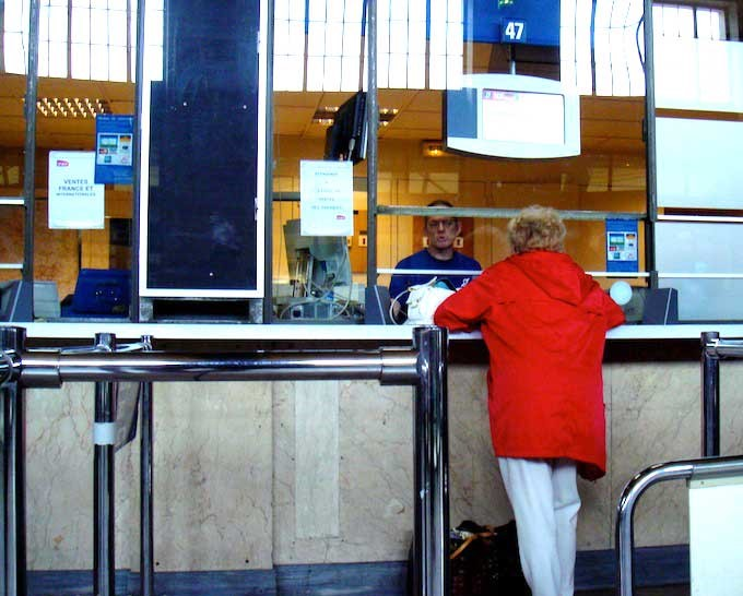 train station ticket booth